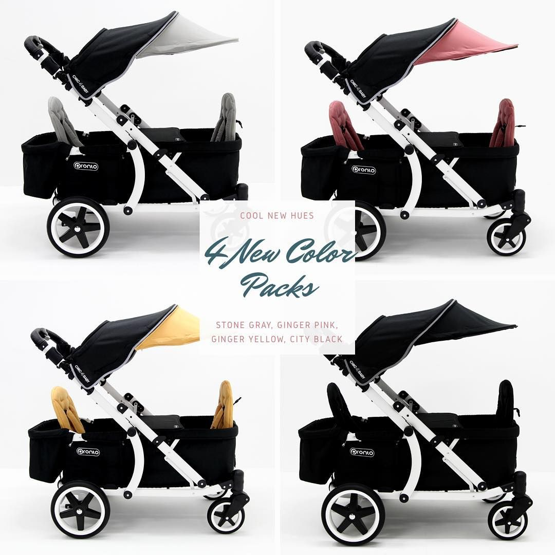 Day 2 of upgrade Stroller, New color, Double strollers
