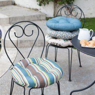 Ulani Bistro Round Seat Cushion Round Outdoor Cushions Round Seat Cushions Patio Chair Cushions