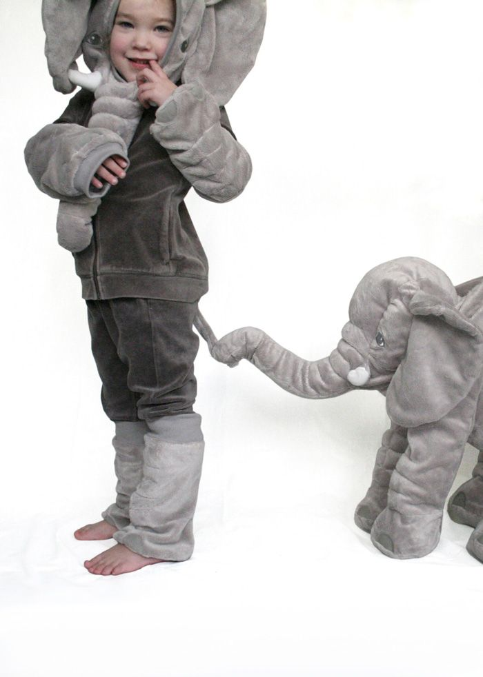 Cuddle elephant to costume | Kostüm, Kinderspielzeug und Fasching