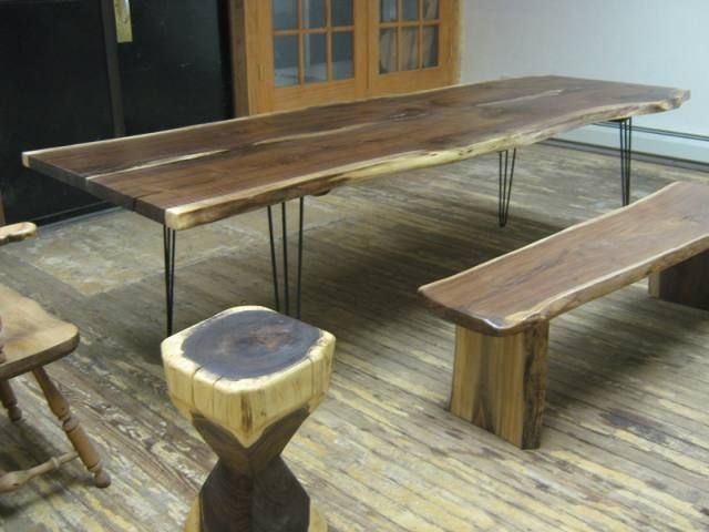 rustic modern furniturewith table board for interior ideas