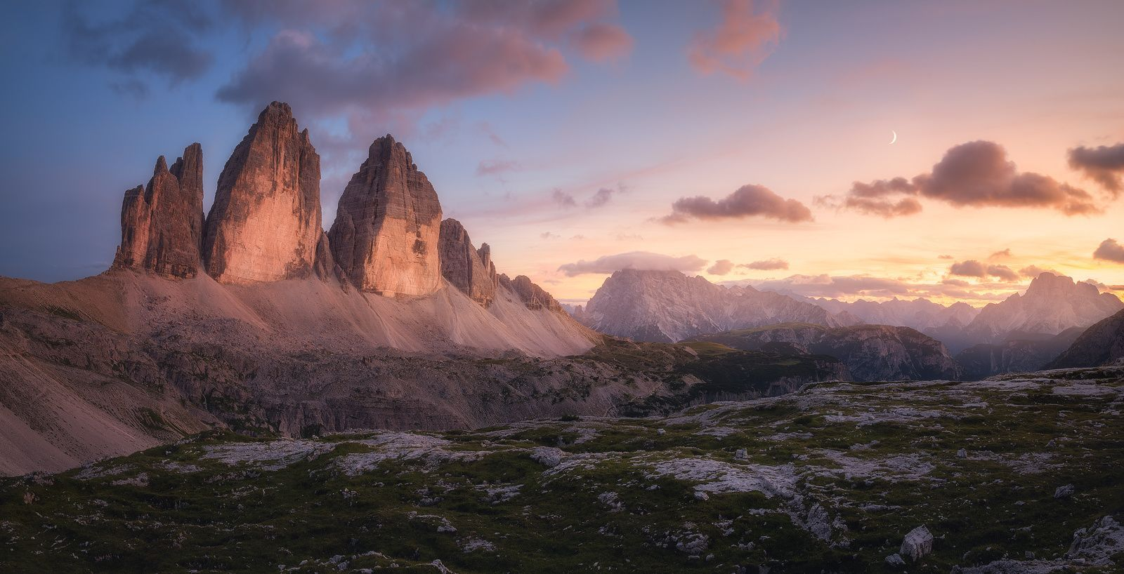 An Evening in the Dolomites  Landscapes photo by Fleischi88 http://rarme.com/?F9gZi
