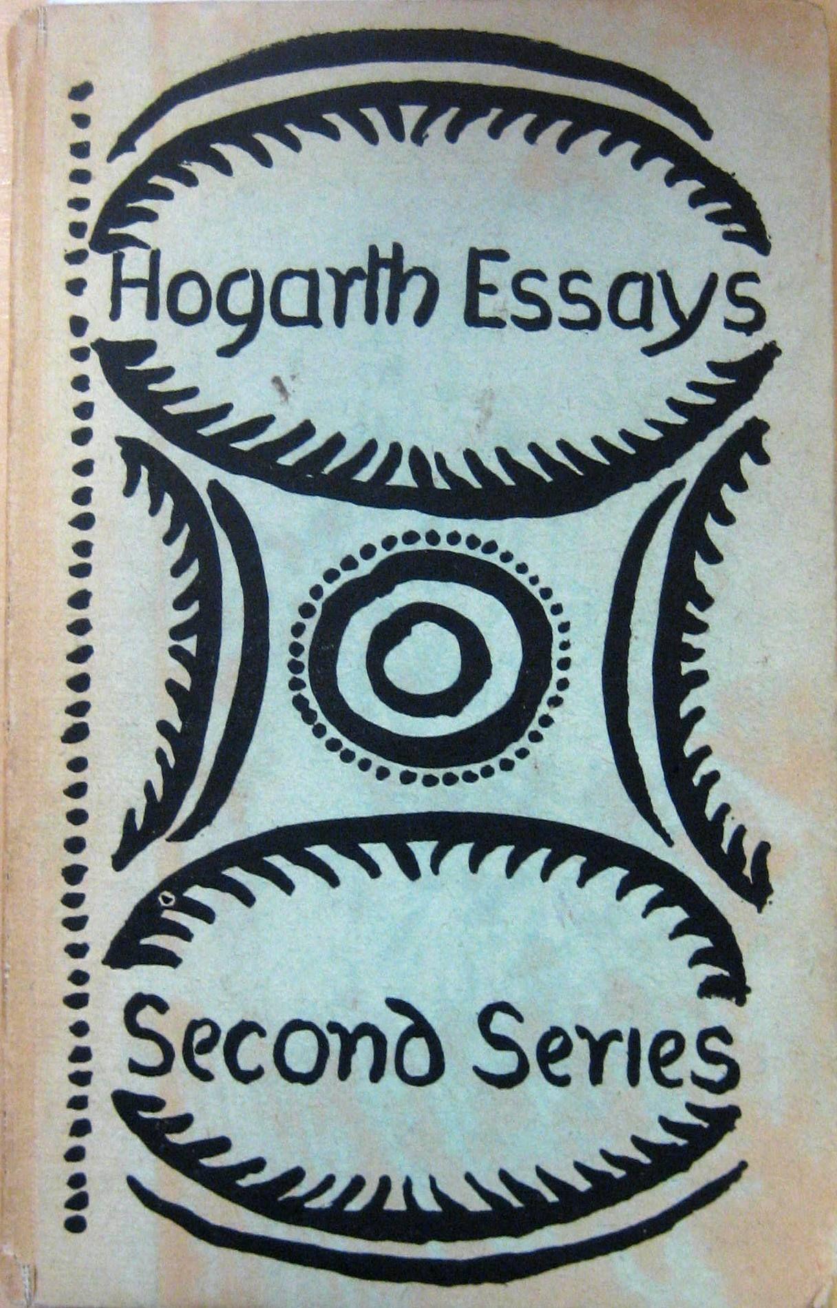 Composition As Explanation Hogarth Press 1926 Book Cover Art