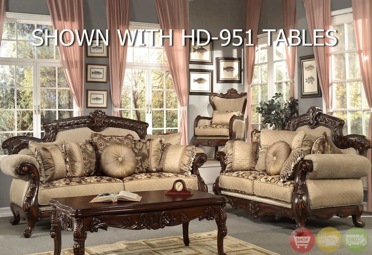 Formal Living Room Sofa Sets | Formal Living Room Antique Style Luxury Sofa  Set HD