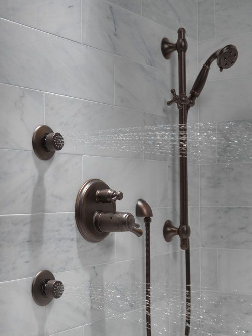 Delta Shower System HydraChoice Body Sprays with Video Shower