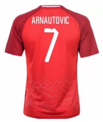 6256410fe87d2 Austria Jerseys 2018-19 Home Soccer Shirt  7 Arnautovic