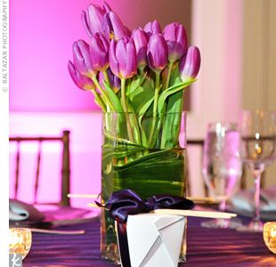 Astounding Purple Tulips Decor Centerpieces Wedding Tulip Wedding Download Free Architecture Designs Estepponolmadebymaigaardcom