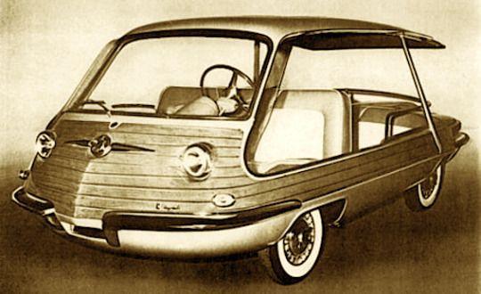 1956 Fiat 600 Multipla Spiaggetta Design By Giovanni Michelotti