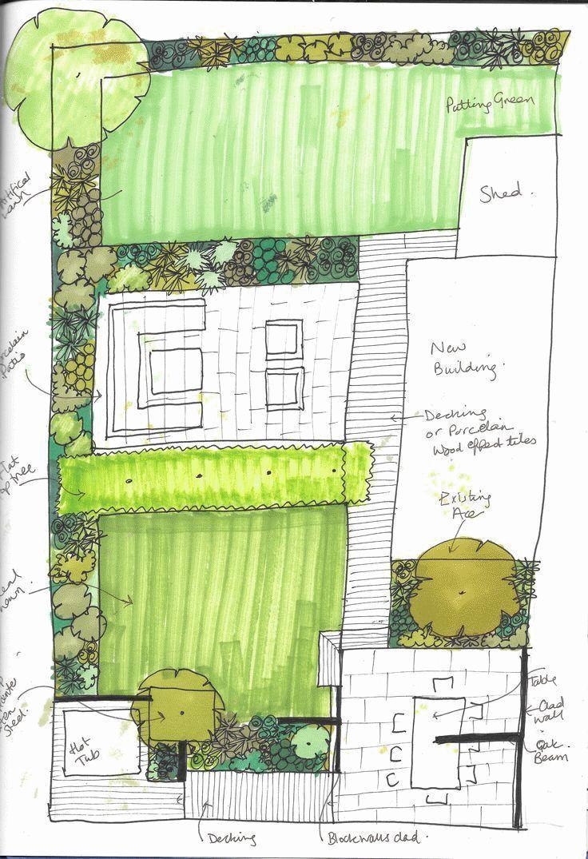 #garden #design #sketch #gardening   #garden #design #sketch #gardening | Garten-Design-Layout + Gar