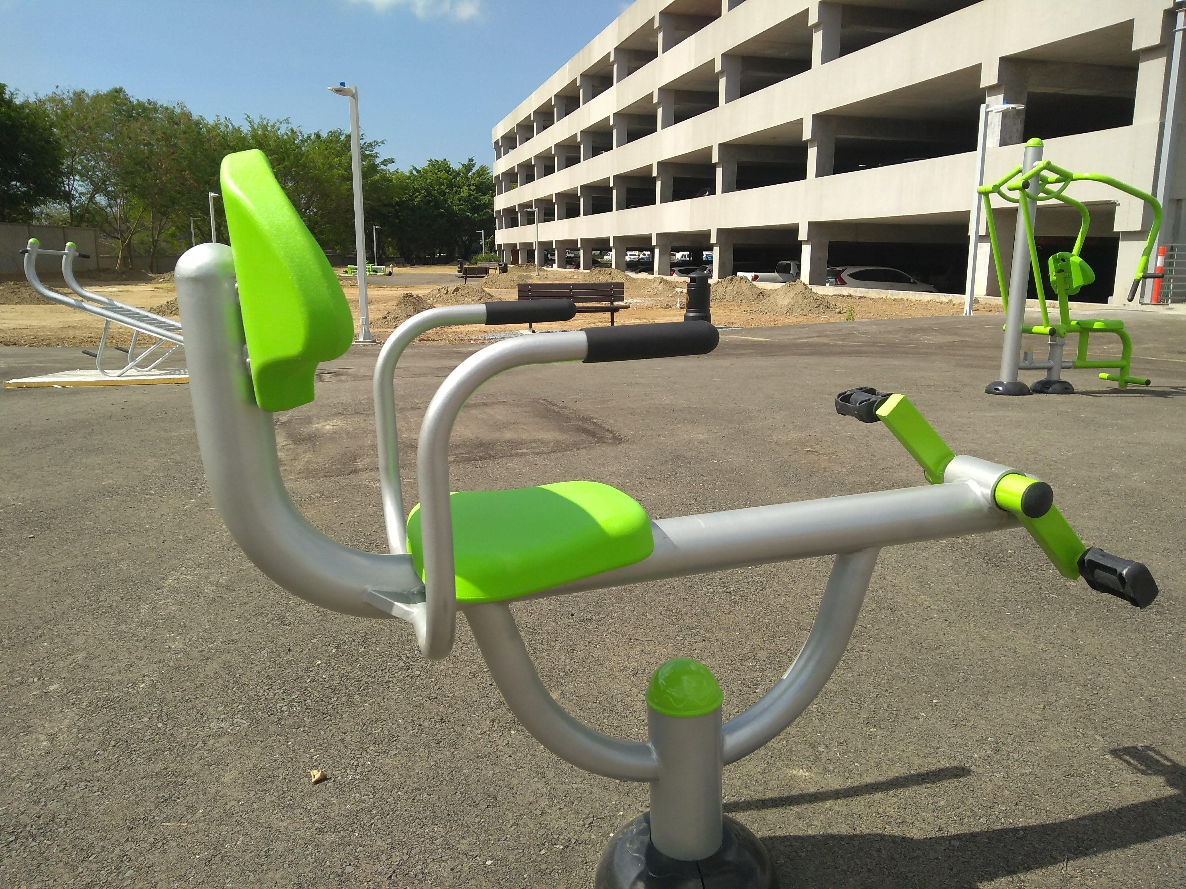 parques con gimnasio al aire libre madrid