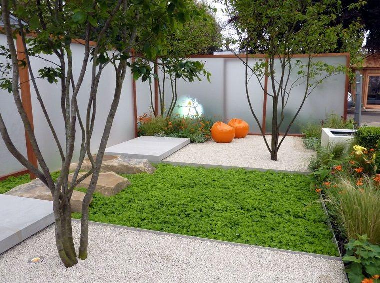 Bonito dise o de jard n trasero patios bonitos for Disenos de jardines y patios