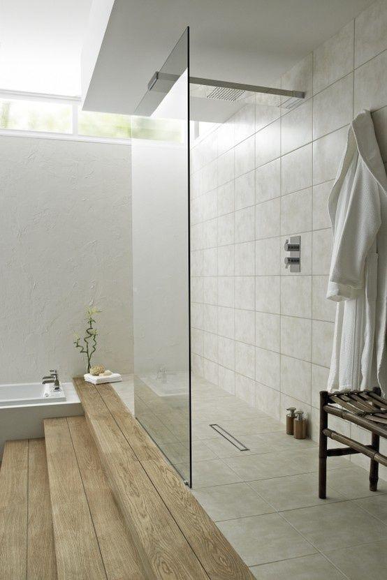 Modern Design Inspiration: Walk Through Showers shower system found at  bathstore