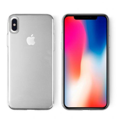 100% authentic f60c6 7ab35 KEY CORE Soft Grip Case för iPhone X - Transparent | Apple for life ...
