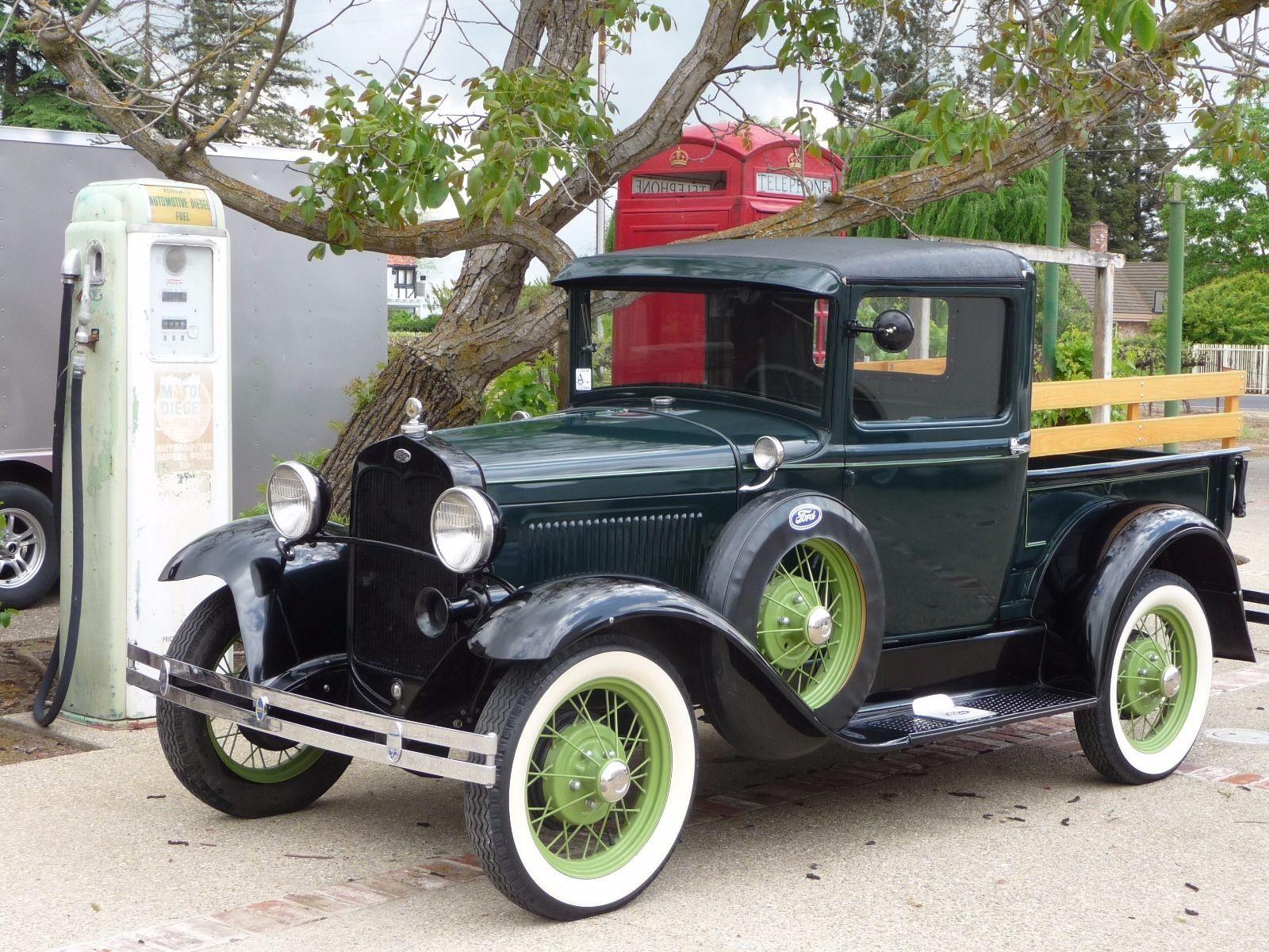 Totally restored 1931 Ford Model A vintage   Vintage trucks for sale ...