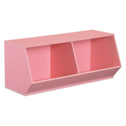 Circo 2 Cube Angled Storage Bin - but in white to store kids lunch boxes  sc 1 st  Pinterest : angled storage bin  - Aquiesqueretaro.Com