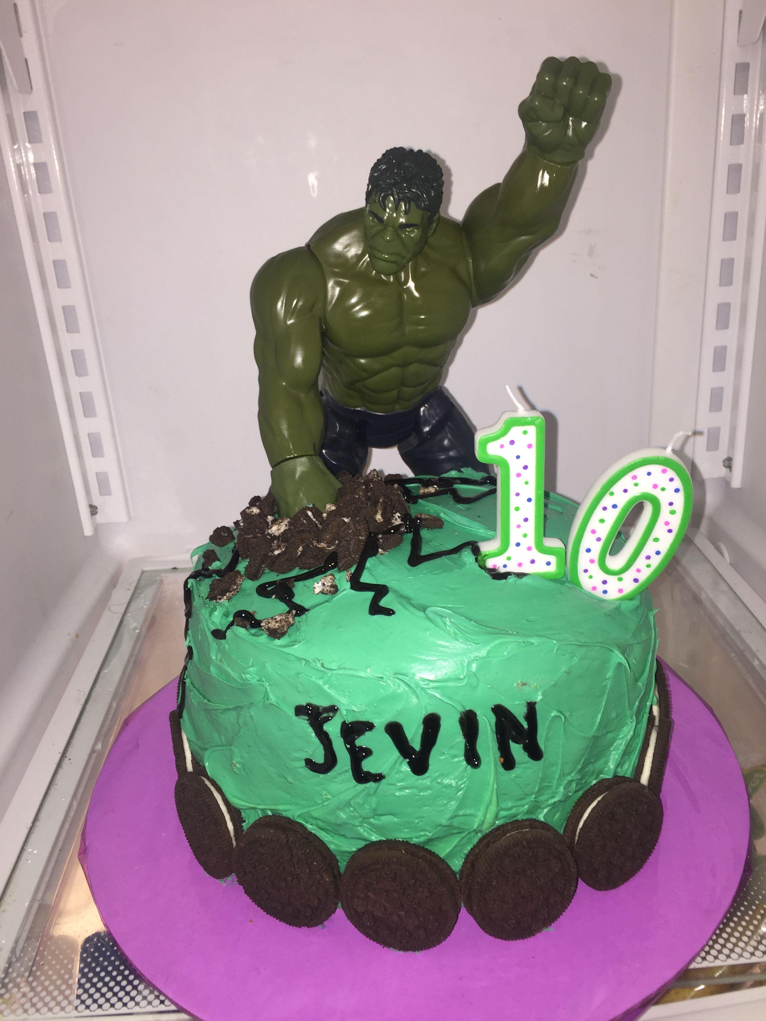 Hulk cake hulk cakes cake desserts
