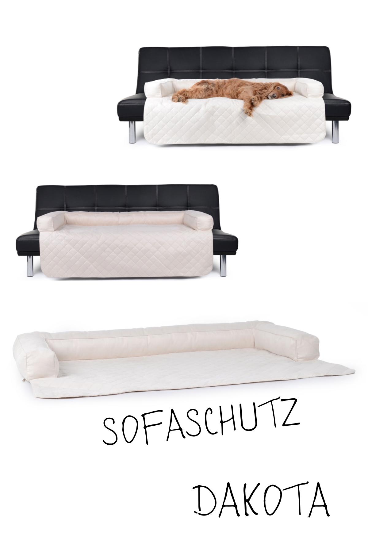 Hunde Sofaschutz Decke Dakota Wildlederimitat 145x100 Cm Creme Sofaschutz Hundedecke Und Hunde