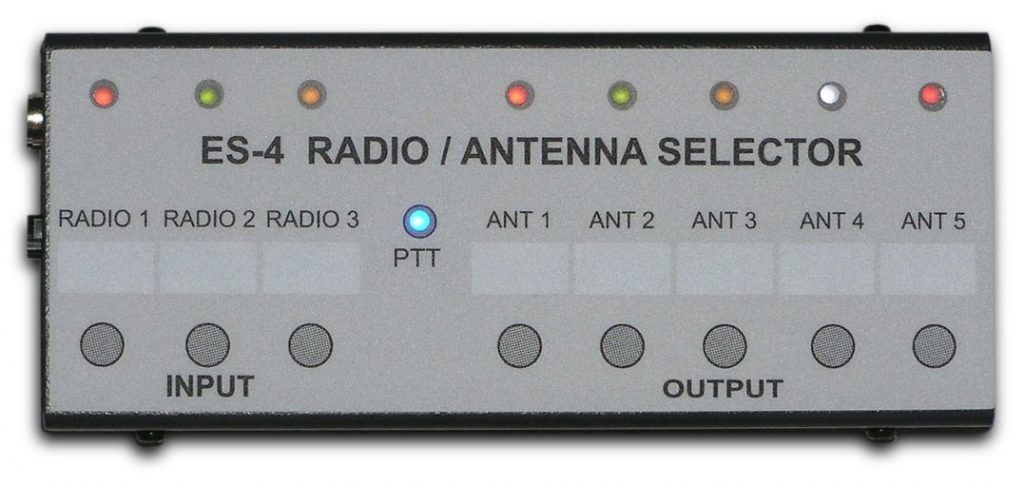 Es 4 Radio Antenna Selector Switch Between 3 Radios And 5 Antennas Radio Antenna Antenna Antennas
