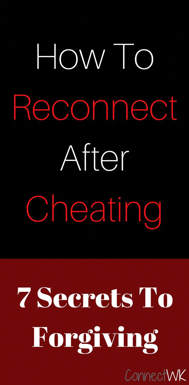 Secrets of surviving infidelity