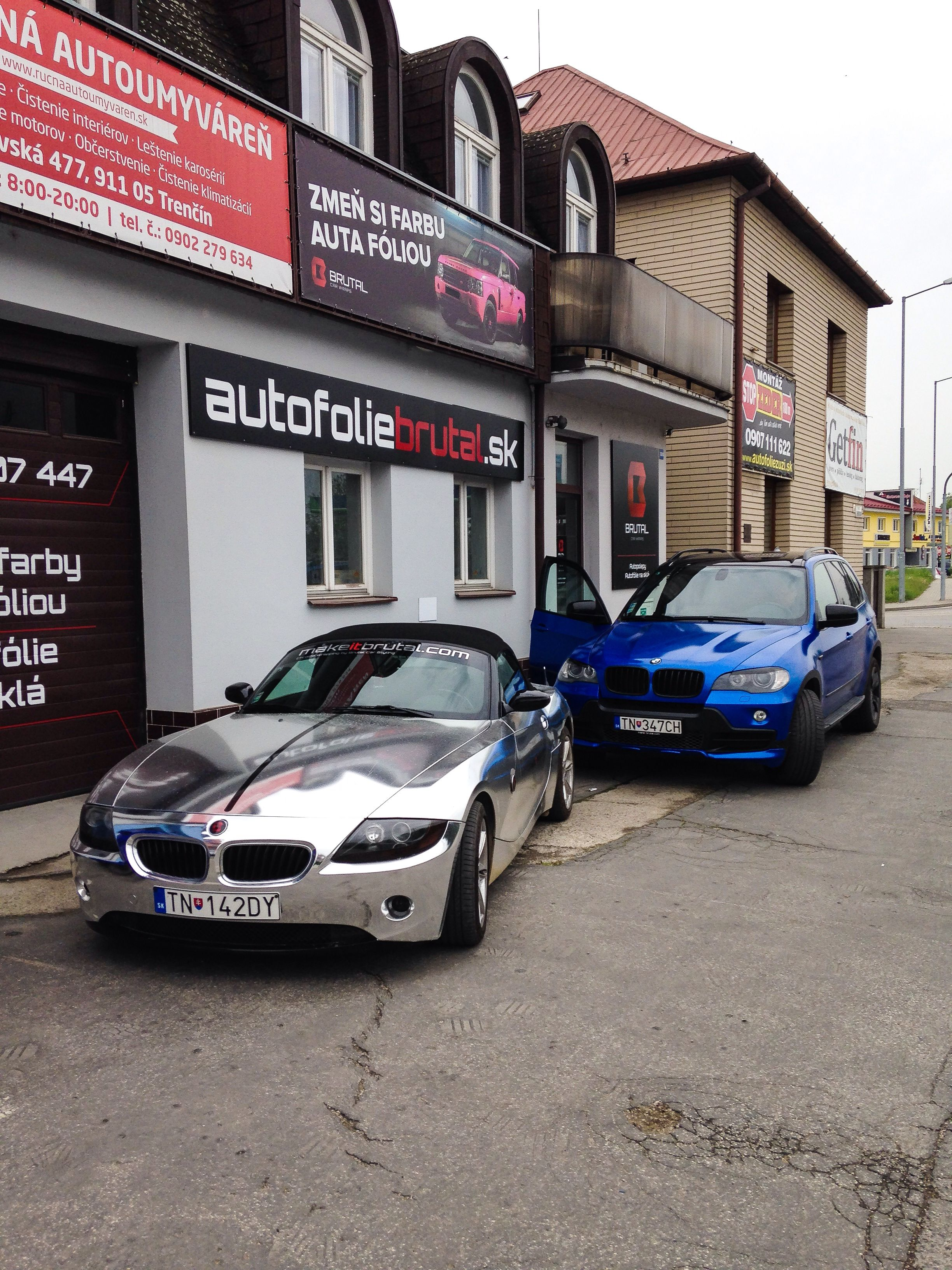 Our Brutal Bmw Z4 Chrome Amp Brutal Bmw X5 Blue Starlight