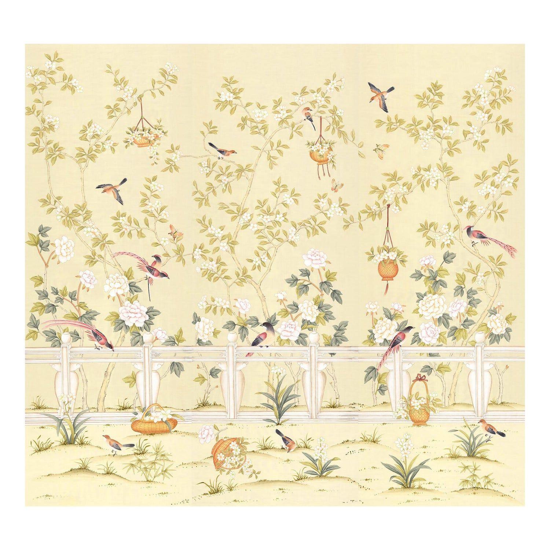 Orsay Garden Chinoiserie Wallpaper in 2020 Chinoiserie