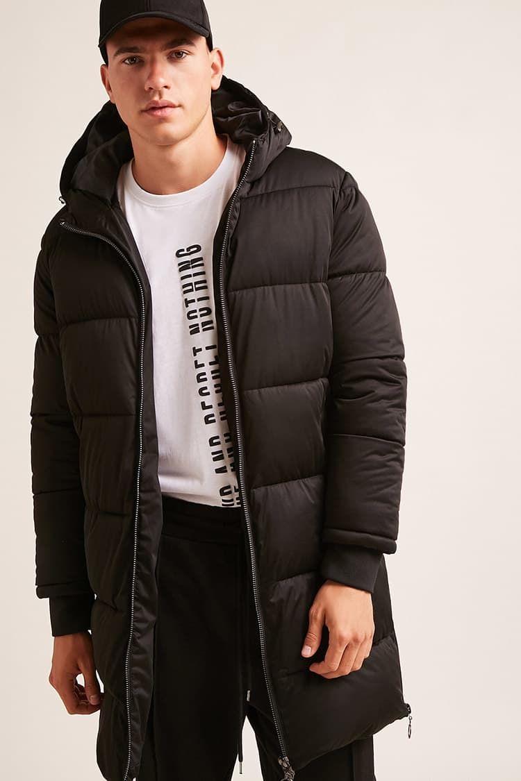 Longline Puffer Jacket Puffer Jacket Outfit Men Puffer Jacket Outfit Mens Winter Fashion [ 1125 x 750 Pixel ]