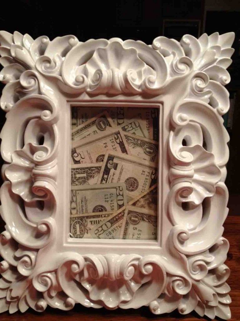 regalar dinero boda original marco billetes | miscositas | Pinterest ...