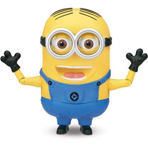 Despicable Me 2 Minion Dave Talking Action Figure.. i want this sooooo bad!! im serious. it has to be Dave, not Stuart, Dave! <3