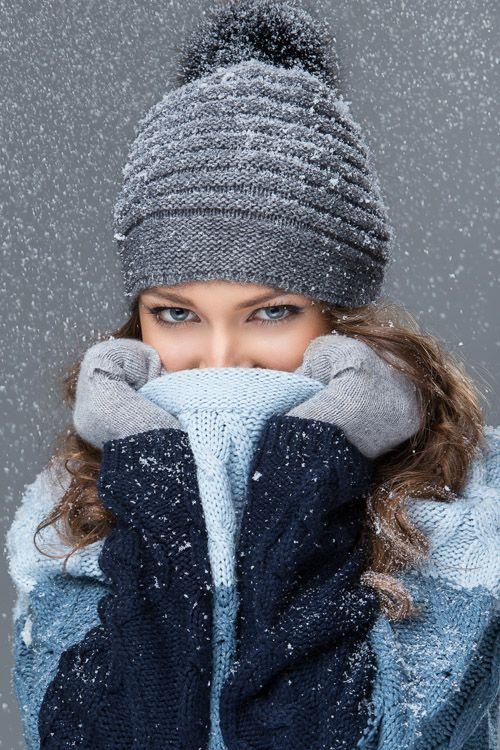 Как красиво фото зимой девушек — photo 10