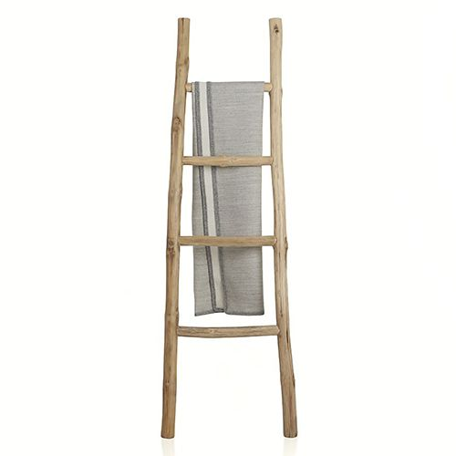 Crate & Barrel Teak Ladder