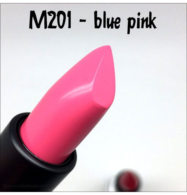 Make-Up-For-Ever-Artist-Rouge-Creme-in-M201, a blue pink, by @makeupforeverus