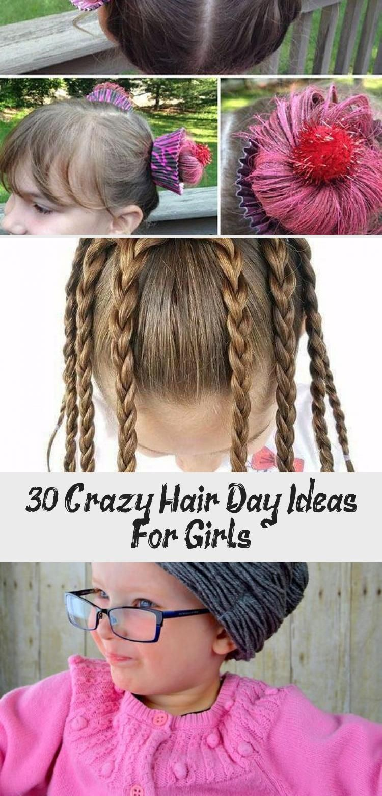 30+ Crazy Hair Day Ideas For Girls #crazyhatdayideas 30+ Crazy Hair Day Ideas for Girls #hairdesignForTeenagers #Longhairdesign #hairdesignForWedding #hairdesignForWomen #hairdesignPoster #crazyhatdayideas