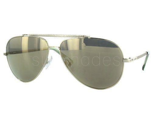 5cf8468b7ef Lacoste L134 S 718 Light Gold-tone L134S Aviator Sunglasses Lacoste.  129.95