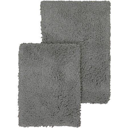 mainstays soft nylon shag bath rug set is available at walmart com rh pinterest com