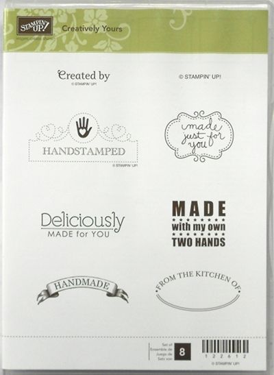 Stampin Up Creatively Yours