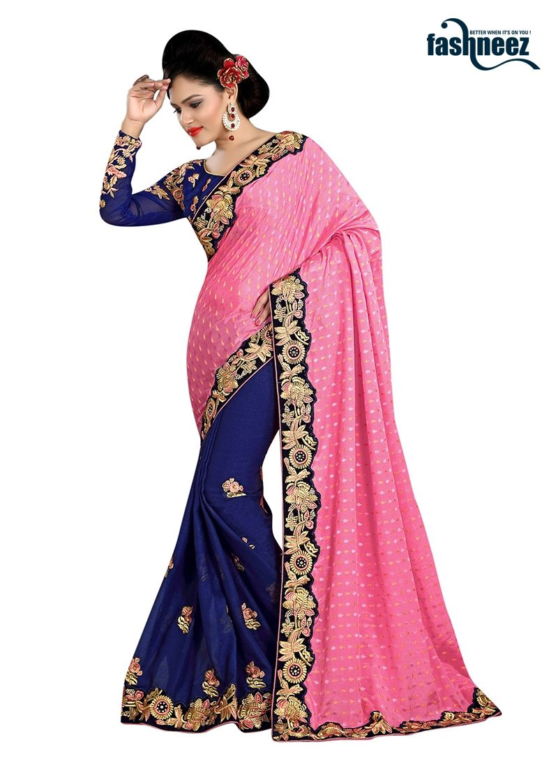 Pink n purple dress  Style and pattern would be on the peak of your elegance after you