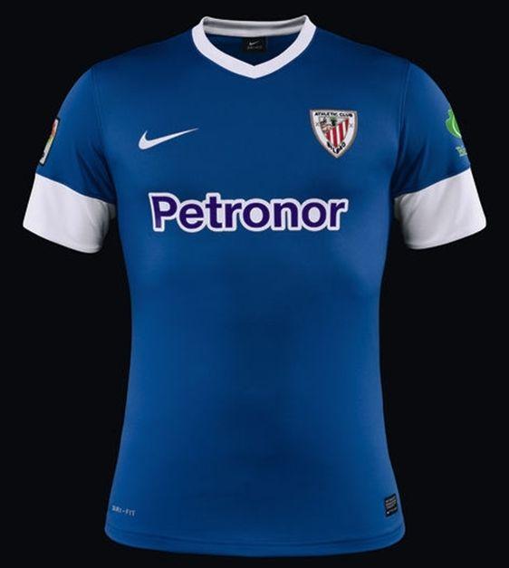 Athletic Club Blue Away Shirts 2013-2014 Nike
