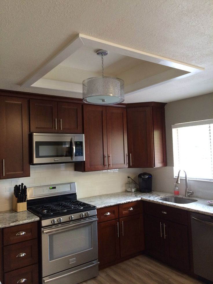 Kitchen Dome Ceiling Remodel