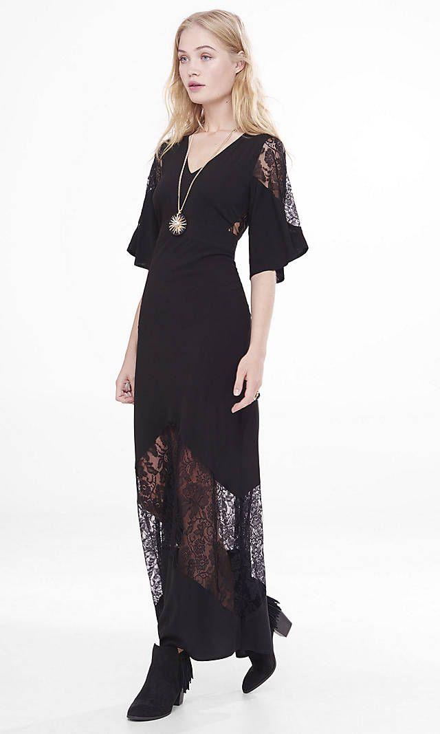 50++ Black lace maxi dress ideas info