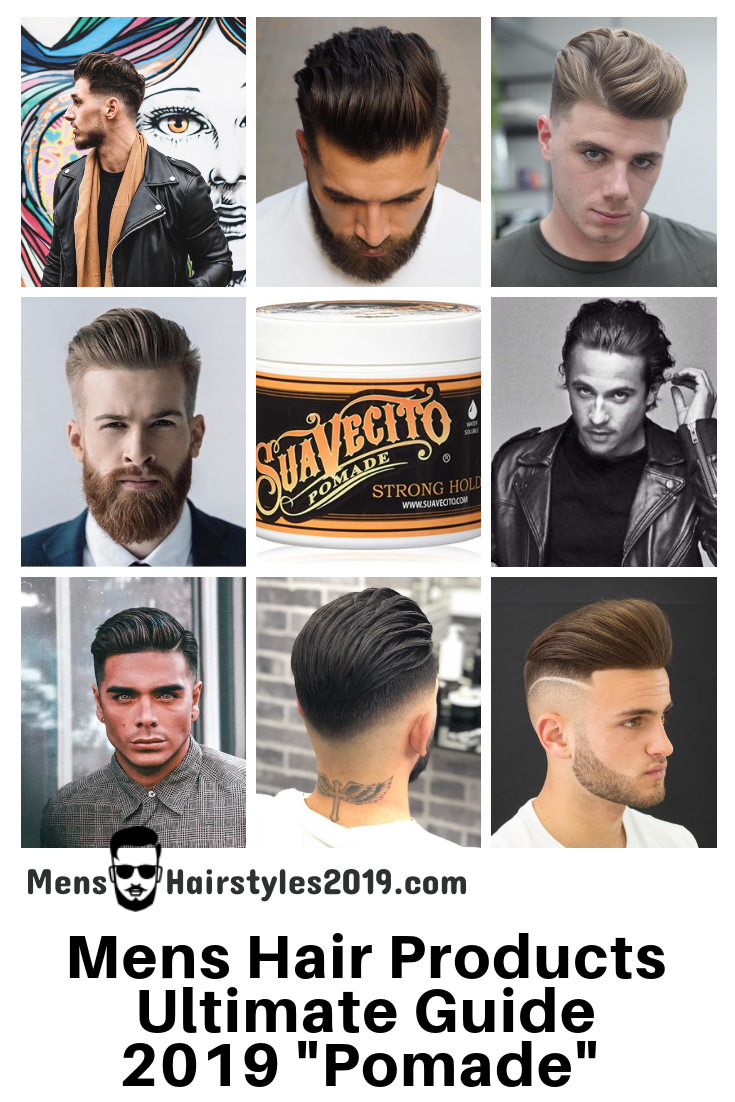 Mens Hairstyles 2019 Best Mens Hair Products Guide Gallery
