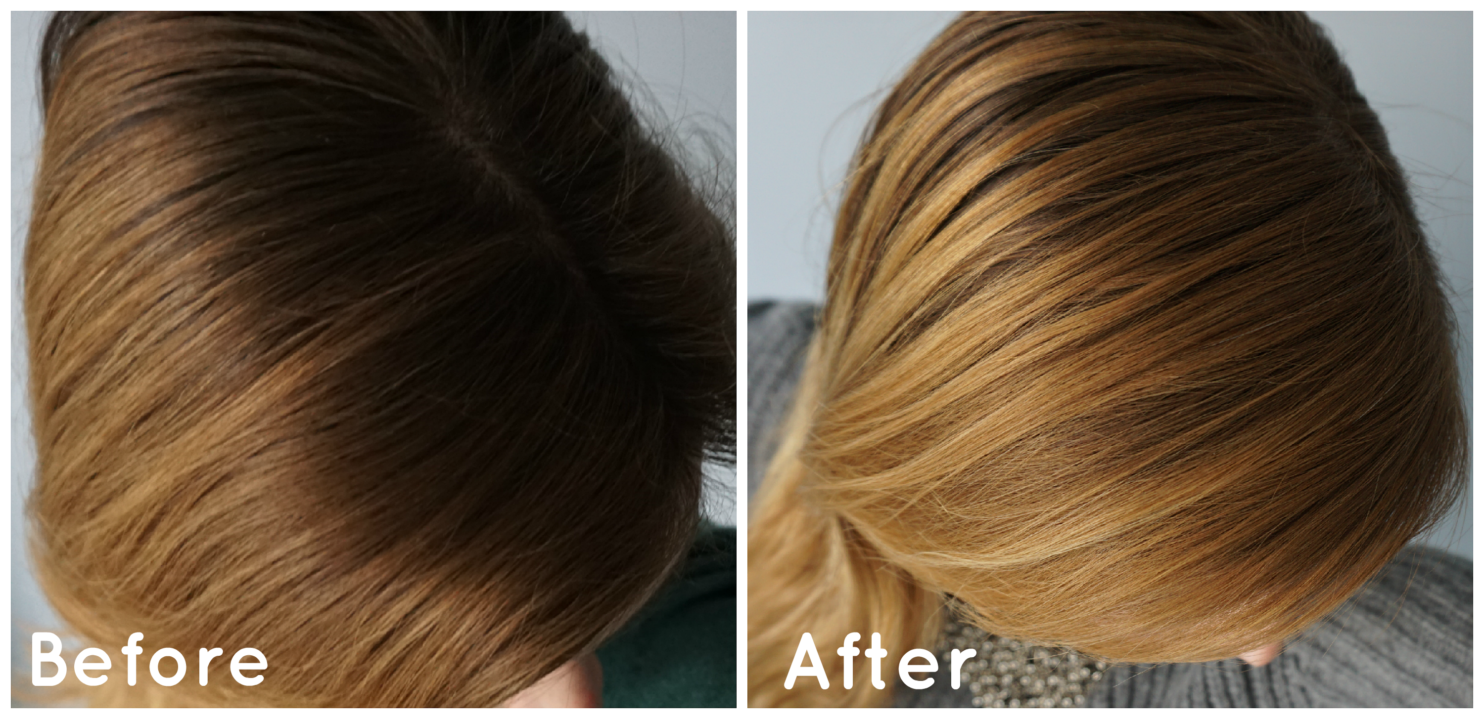 Natural Hair Lightening Without Sun