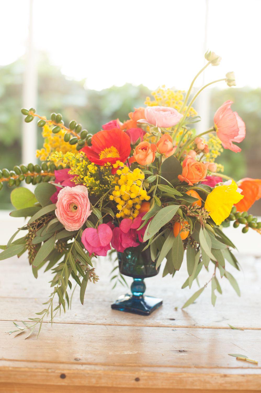 Diy Summer Flower Arrangement Summer Flower Arrangements Flower