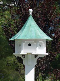 Copper Roof Bird House Bird Houses Bird House Bird House Plans