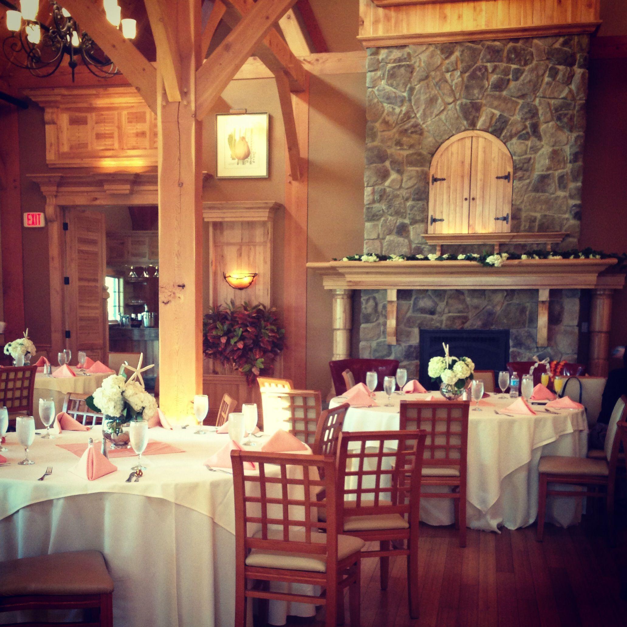 Simple spring wedding shower ~ Rustic and elegant barn ...