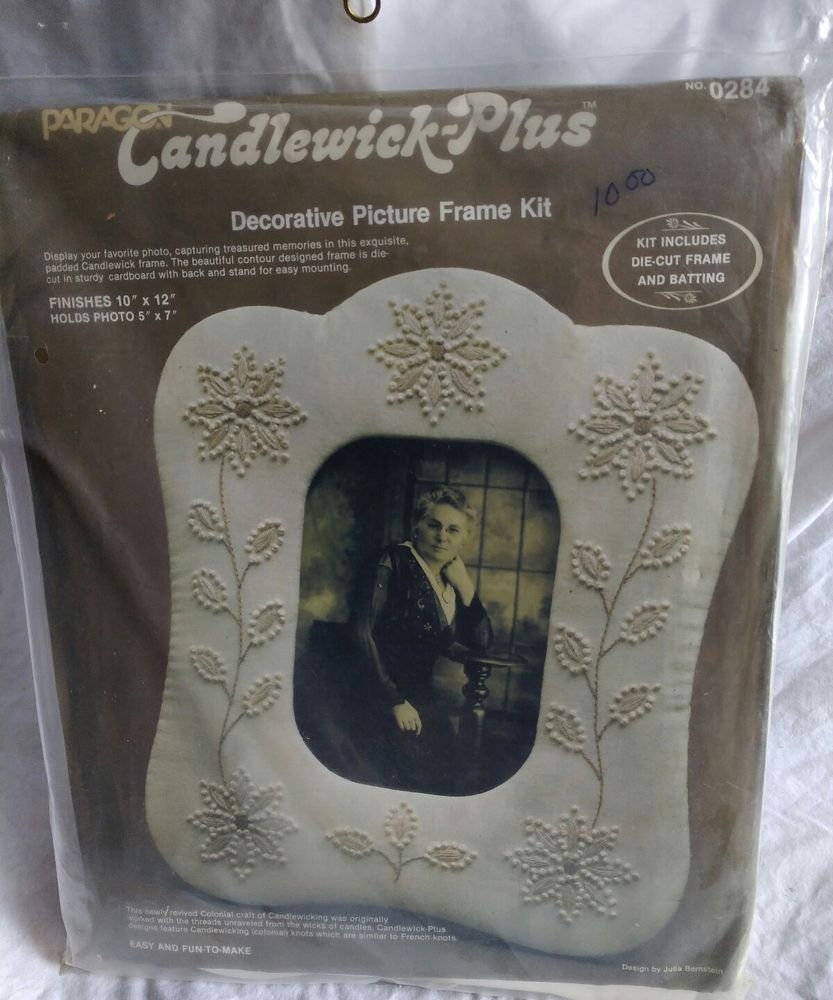Home interior frames  or best offer paragon needlecraft kit candlewickplus picture