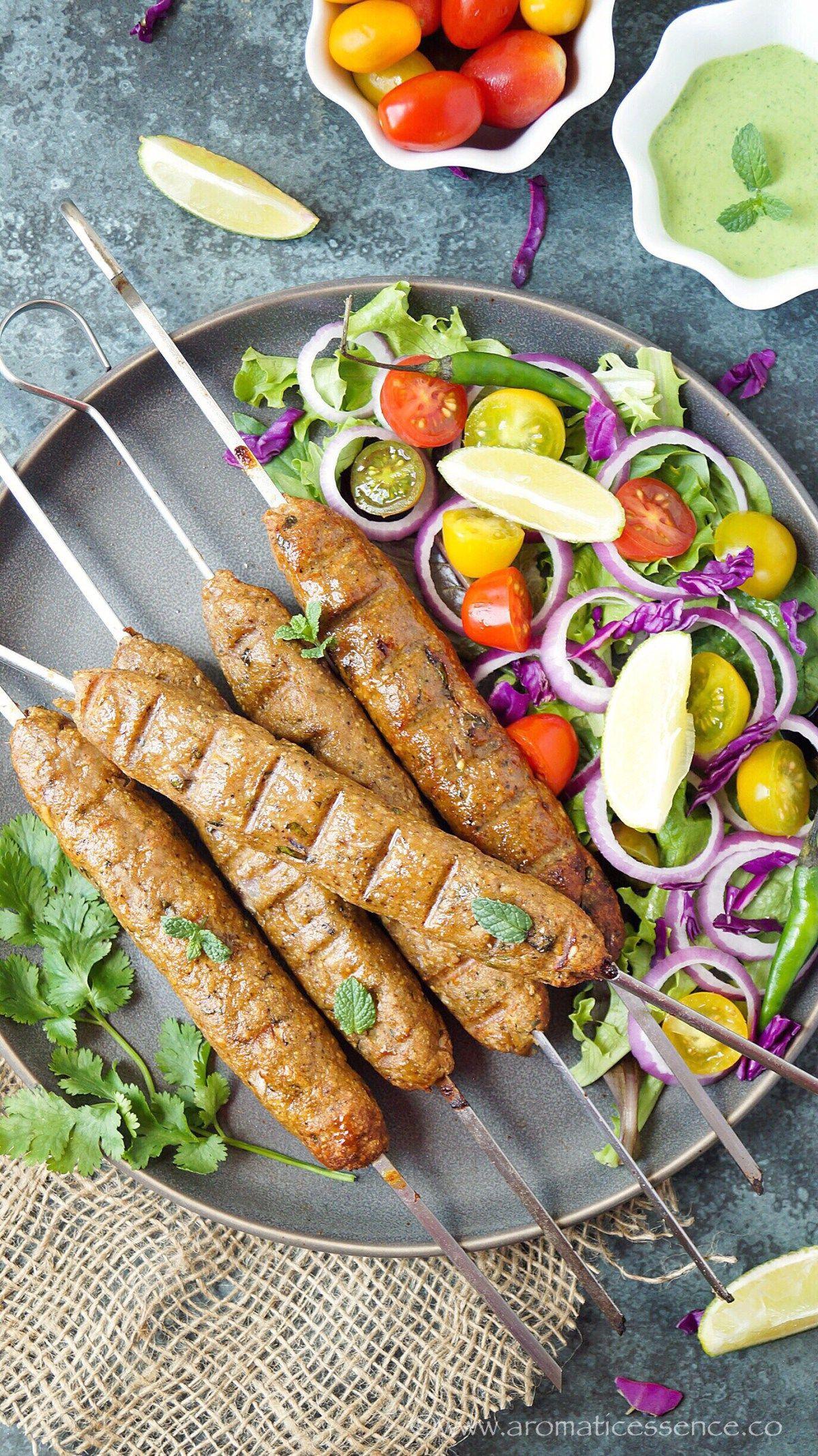 Chicken Seekh Kabab Recipe How To Make Chicken Seekh Kebab Recipe Kebab Recipes Seekh