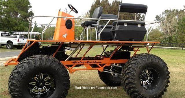 Mini Mud Buggy Crankyape Trucks Monster Trucks Lifted Trucks