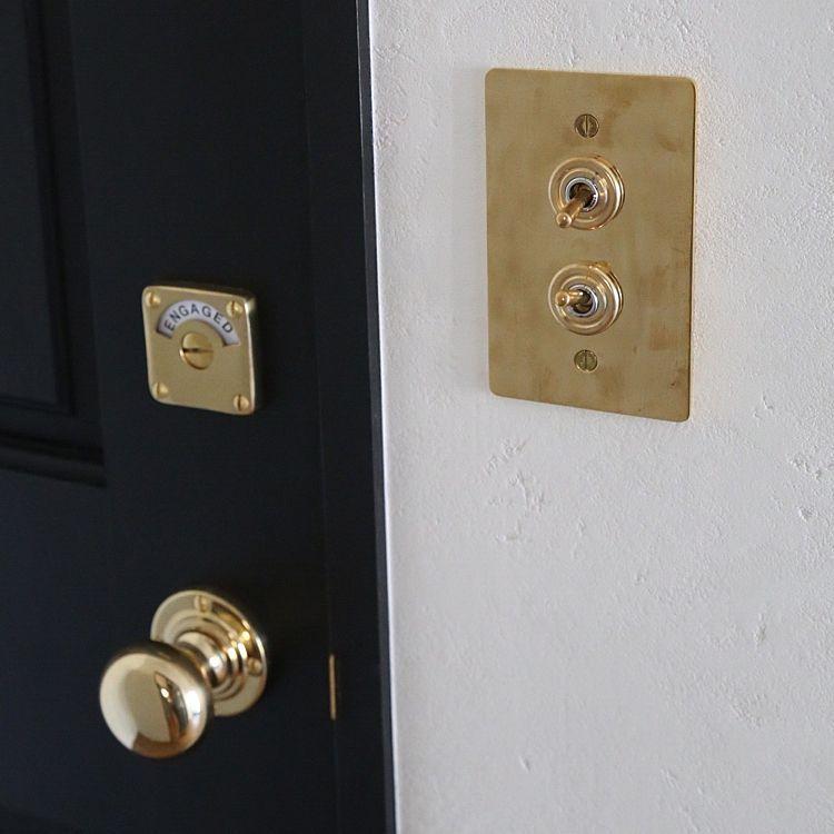 バス トイレ 鍵 ドア スイッチプレート ドアノブ などのインテリア