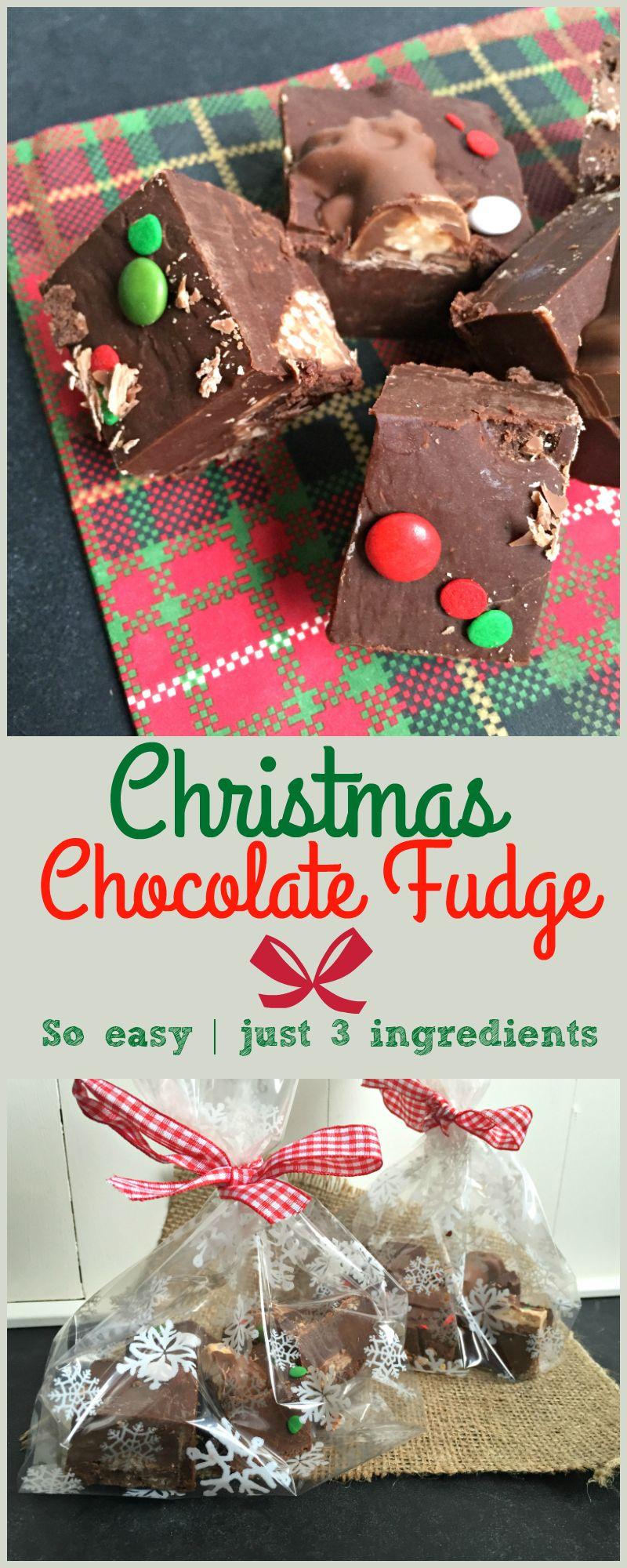 Easy Malteser Reindeer Chocolate Fudge | Recipe | Junior stuff ...