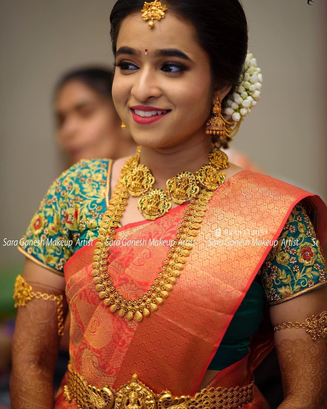 muhurtham look :) jewelr | brides in 2019 | bridal silk