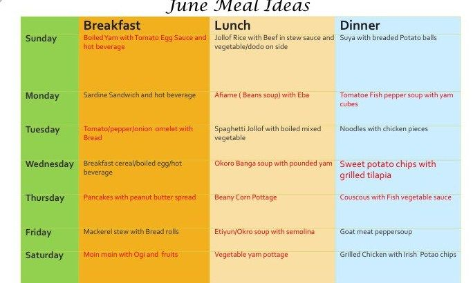 Image Result For Nigerian Food Time Table Meal Time Nigerian Food Nigeria Food
